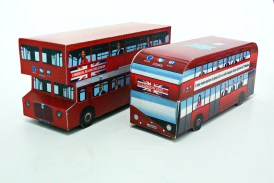Embalagem para PenDrive London Bus Classic/New