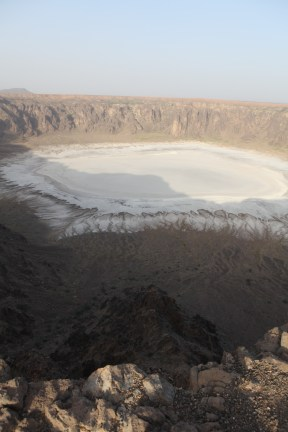 A full view of Wahba crater from the top