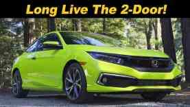 2019 / 2020 Honda Civic Coupe | Last 2–Door Standing
