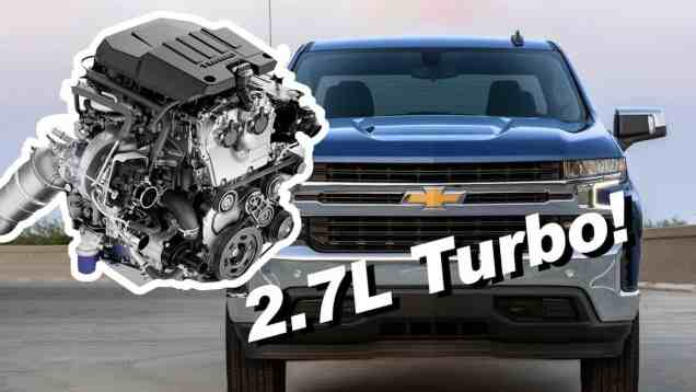 2019 Chevy Silverado 2.7L Turbo!   Not Quite A V8 Replacement…