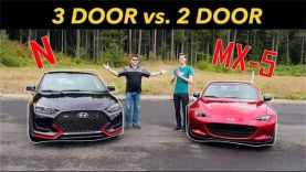 2019 Hyundai Veloster N vs  2019 Mazda MX 5 Review