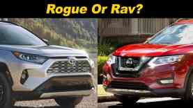 2019 Nissan Rogue vs Toyota RAV4 | Which Should You Pick?