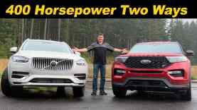 2020 Ford Explorer ST vs 2020 Volvo XC90 T8 | Mainstream vs Luxury