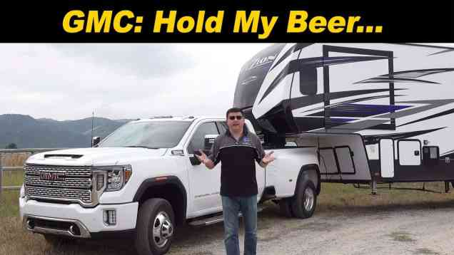 2020 GMC Sierra HD   Towing To The Max!
