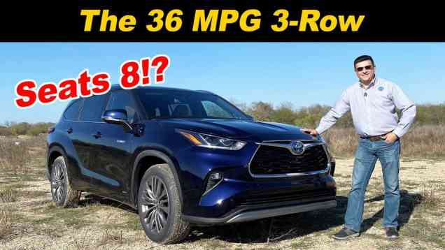 2020 Highlander Hybrid | Fuel Sipping 3-Row With 8 Seats