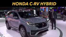 2020 Honda CR-V Hybrid First Look