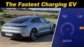 2020 Porsche Taycan | DC Fast Charging From 1-100%