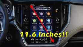 2020 Subaru Outback Infotainment Review