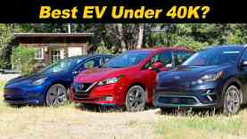 "Model 3 vs Leaf vs Niro EV | The Newest ""Budget"" EVs Compared!"