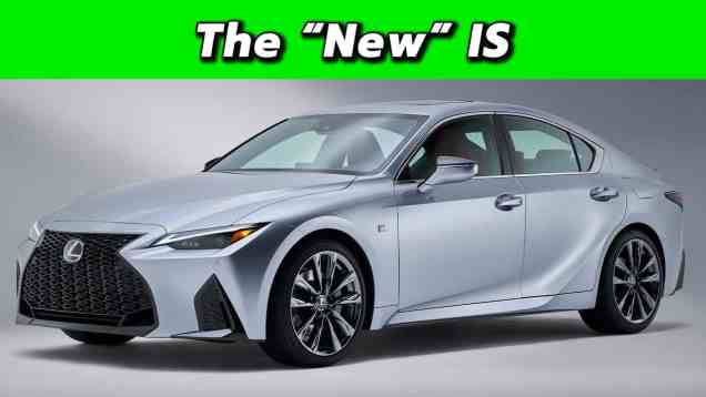 2021 Lexus IS First Look