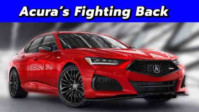 Acura's New Flagship! The Type S Returns! 2021 Acura TLX First look