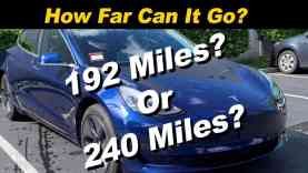 Tesla Model 3 Range Test Explained | Your Mileage May Vary