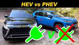 Toyota RAV4 Hybrid vs Mitsubishi Outlander Plug In | To Plug Or Not To Plug?