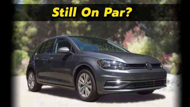 Still Waiting For The New Golf | 2020 Volkswagen Golf Review