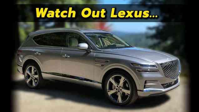 The SUV Lexus Should Have Built | 2021 Genesis GV80