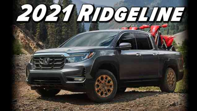 2021 Honda Ridgeline | The Pragmatist Gets A Nose Job