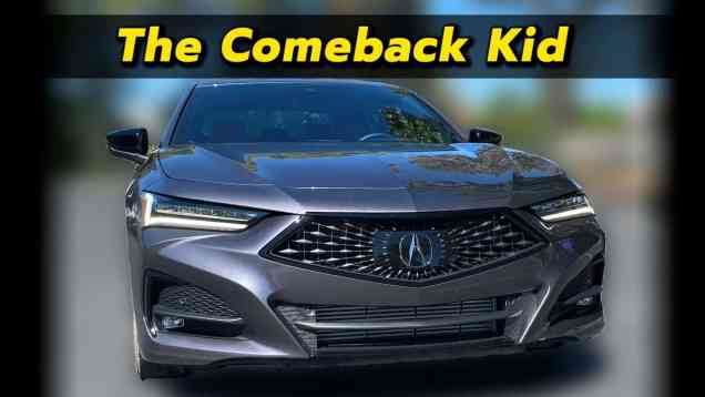 So Close To Greatness   Acura TLX First Drive Review