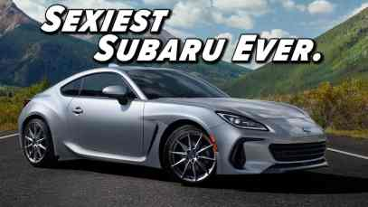 2022 Subaru BRZ First Look   Bringing Lightweight Sexy Back