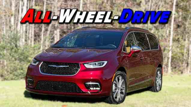 Finally With AWD | 2021 Chrysler Pacifica First Drive