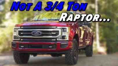 Ford's Super Duty Tremor Isn't A Super-Sized Raptor