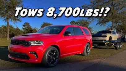 Silly Name Serious Specs | 2021 Dodge Durango RT Tow N Go