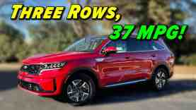 The Fuel Sipping Three Row | 2021 Kia Sorento Hybrid