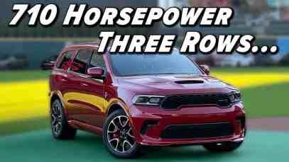 Three Rows Of Fun | 2021 Dodge Durango SRT Hellcat