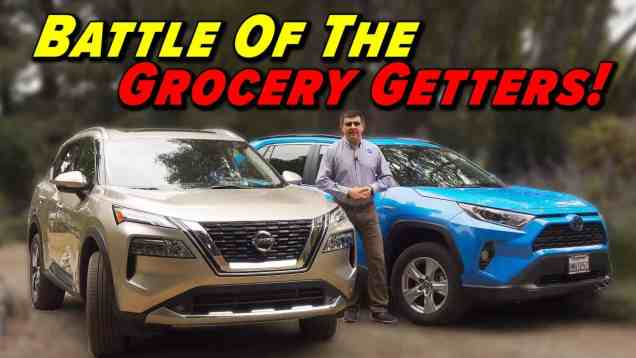 The Battle For Suburbia | Rogue vs RAV4