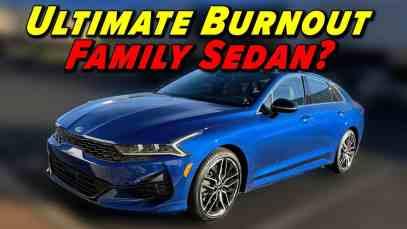 Is This The Craziest Family Sedan? | 2021 Kia K5 GT