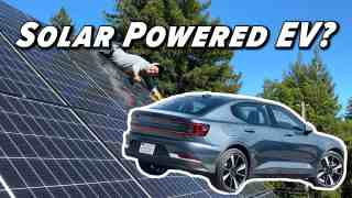 The Truth About EVs And Solar