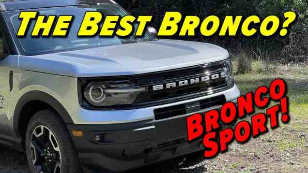 Bucking The Cute UTE Stereotype | 2021 Ford Bronco Sport