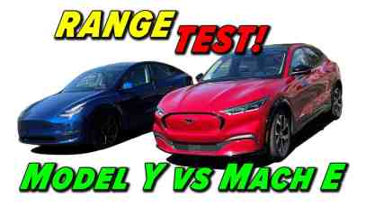 Tesla vs Ford:  Which One Can go 250 Miles?