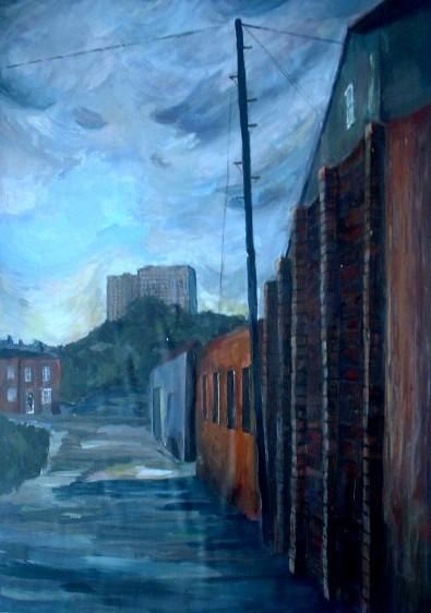 A road in Birmingham