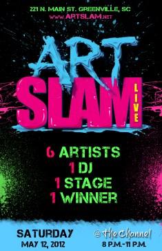 Art Slam Poster