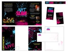Art Slam Identity Package