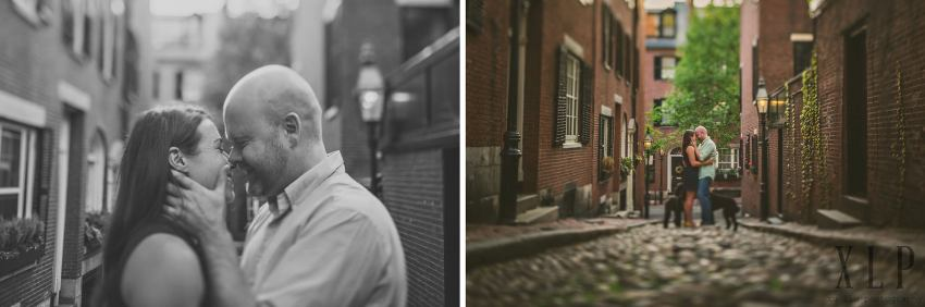 Couple portraits on Acorn Street