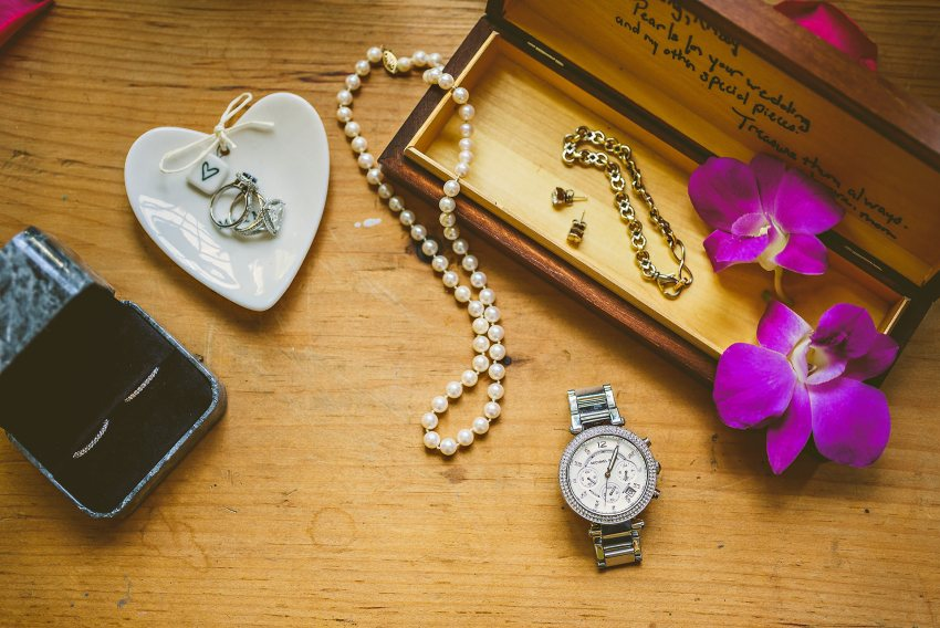 meaningful wedding details and jewelry