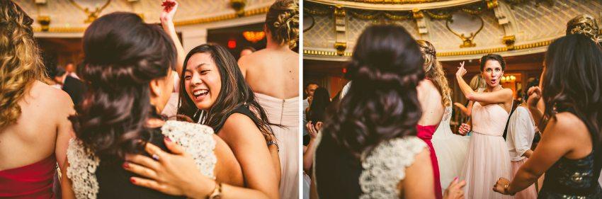 wedding reception at the lenox