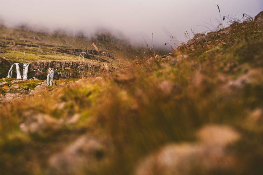 gorgeous destination Icelandic engagement session