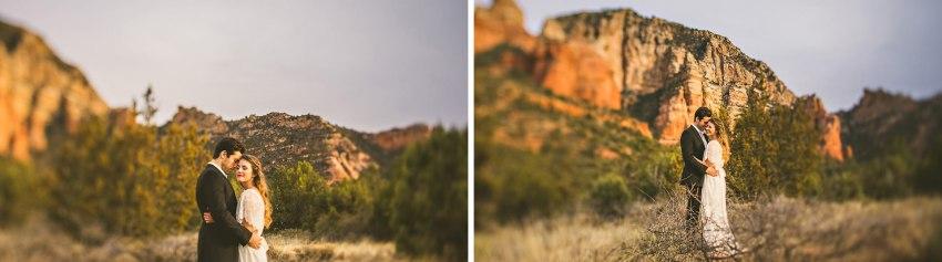 Arizona elopement inspiration photos