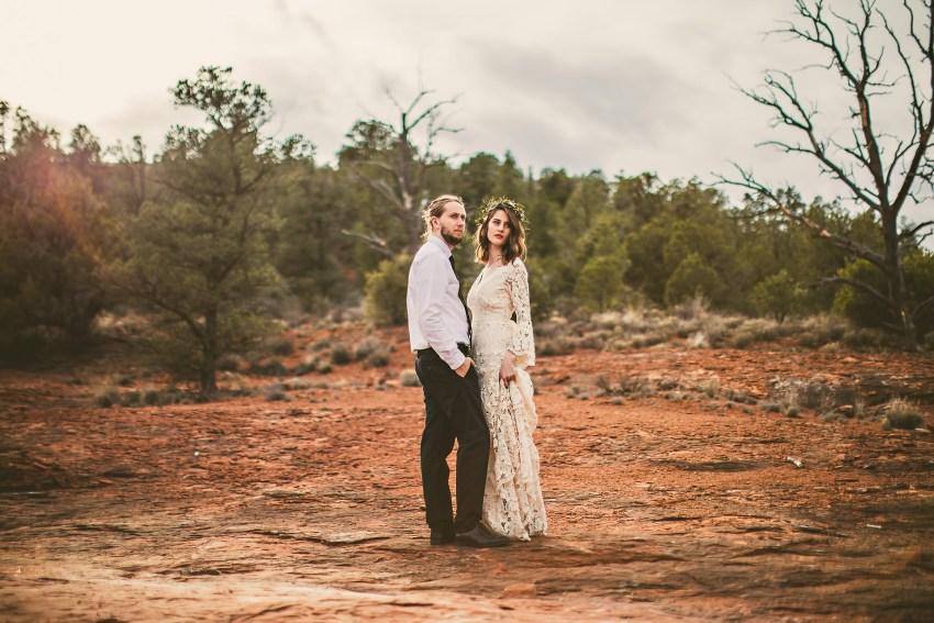 Cathedral Rock wedding photos