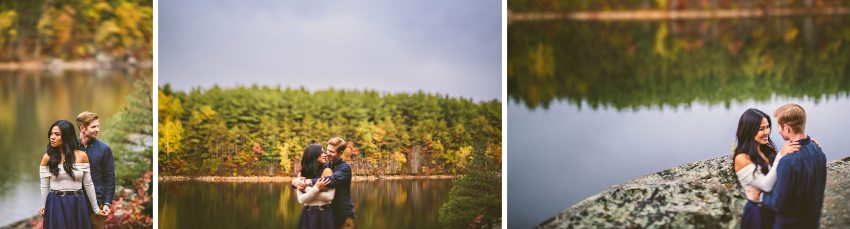 Middlesex Fells engagement pictures