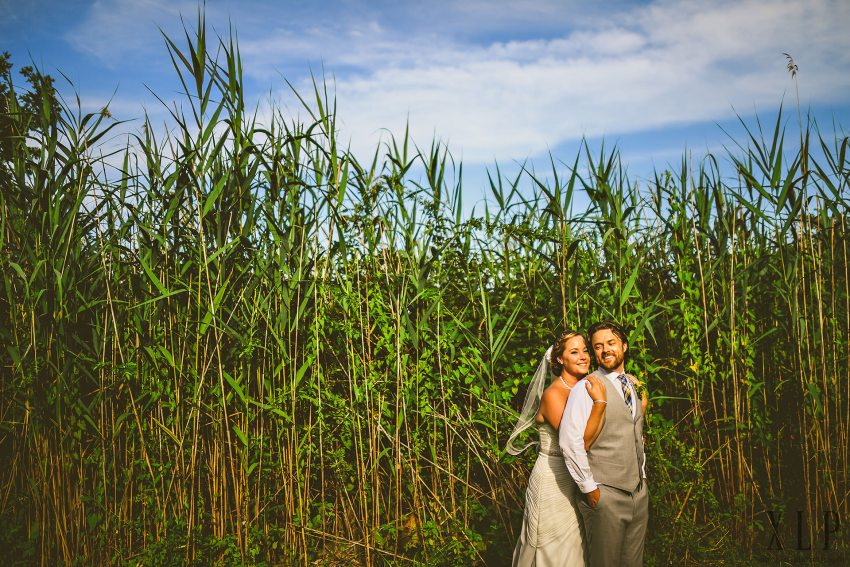 Roger Williams University wedding portraits