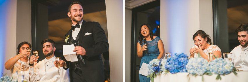 Emotional State Room wedding speeches