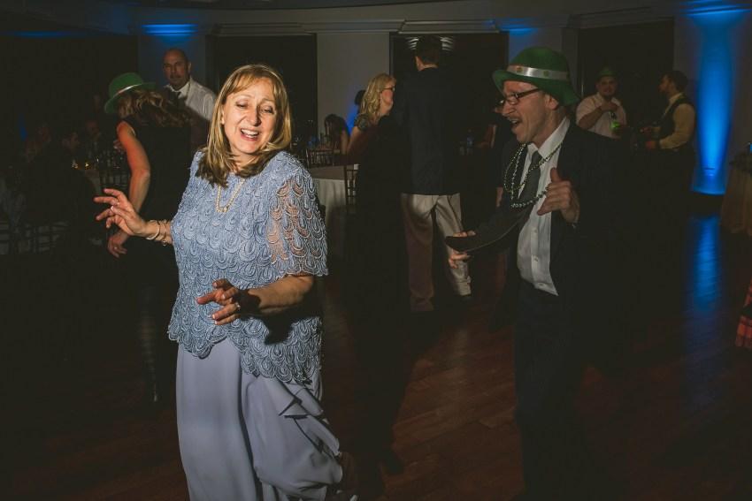 Reception dance party