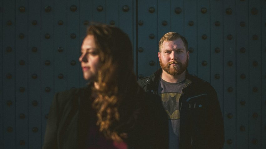 Artistic engagement portraits in Southie