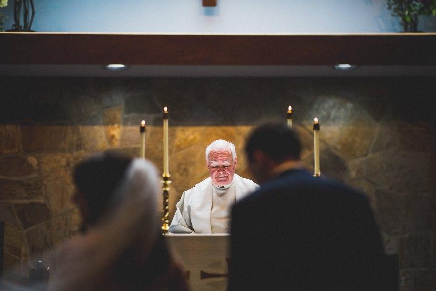 New Hampshire wedding ceremony