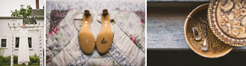 Western Massachusetts wedding details