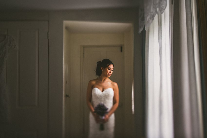 Felton House wedding bridal portrait