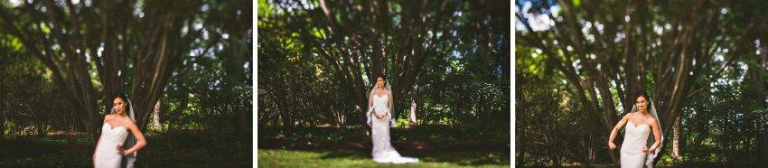 Bridal portraits in Peabody
